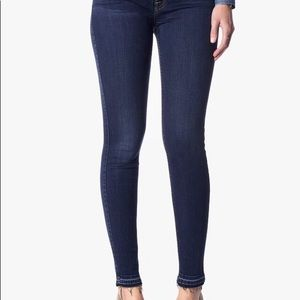 7 For All Mankind Bair Ankle Skinny Jeans